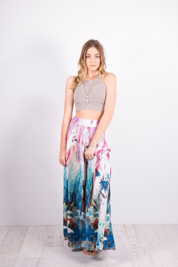 Womens Island Maxi Skirt by SunHaze on Etsy