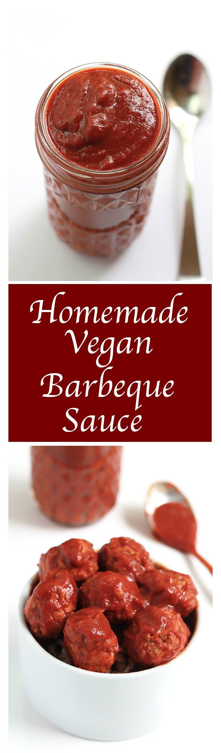 Thick, tangy and sweet with a little bit of smoky is the best way to describe this Homemade Vegan Barbeque Sauce, and just in time for the upcoming grilling season.