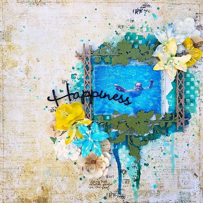 A Stash of Pretty Paper: Blue Fern Studios - Happiness