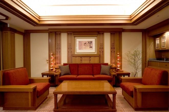 帝国ホテルのフランクロイドライトスイート