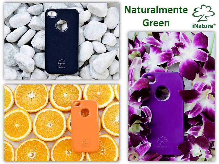 iNature #cover #biodegradabili per #cellulari #iPhone