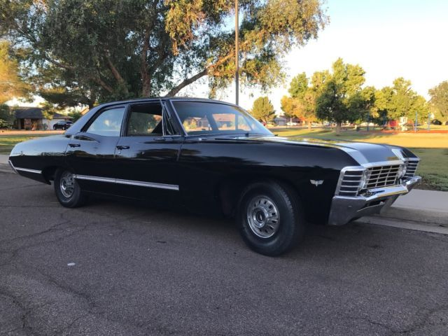 1967 Chevy Impala Four Door Supernatural Black Hunter Baby For