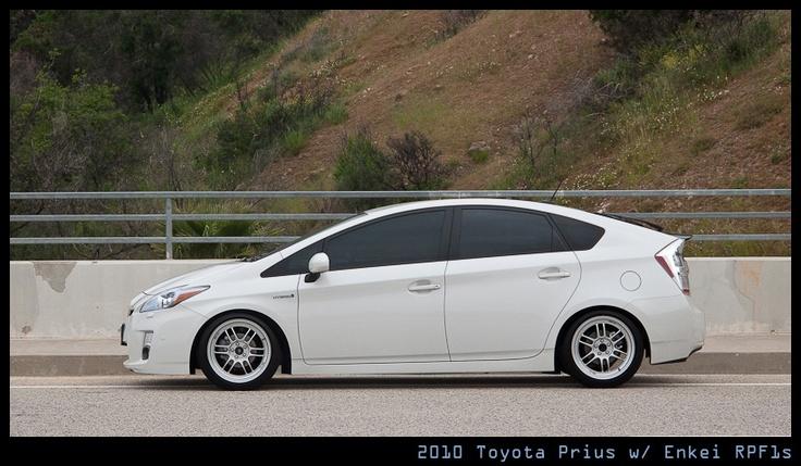 17 Quot Enkei Rpf1 And Lowered Prius Pinterest Toyota