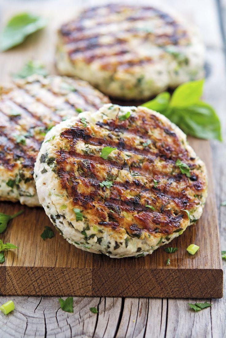 Green Goddess Turkey Burgers by theironyou #Turkey_Burgers #Healthy