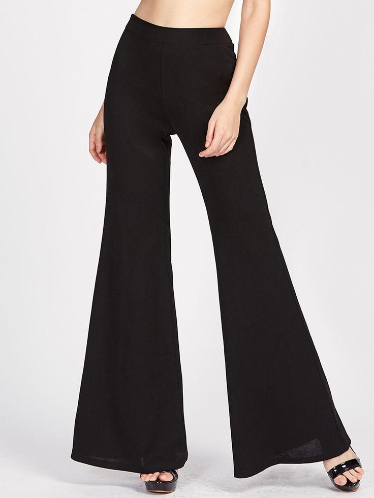 Shop Zip Side Super Flare Pants online. SheIn offers Zip Side Super Flare Pants & more to fit your fashionable needs.