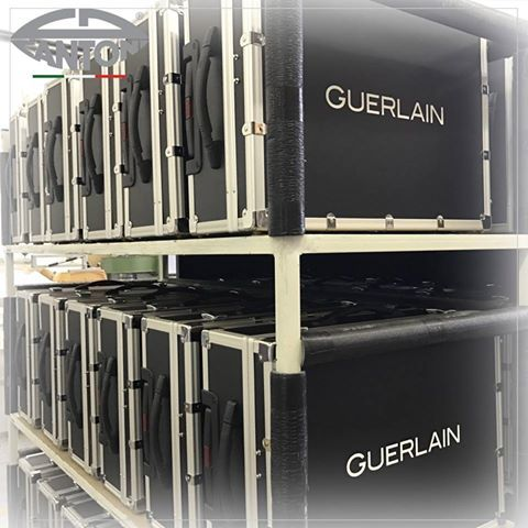 The new make up stations for #Guerlain, are ready to being delivered. #Cantonifactory #makeupstations #guerlainmakeup