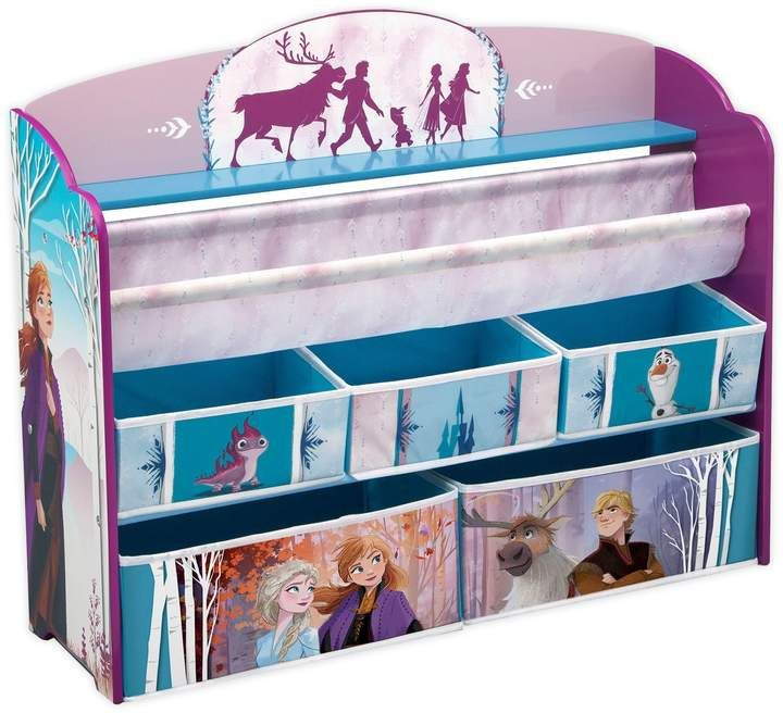 Disney Frozen Ii Deluxe Toy And Book Organizer In 2020