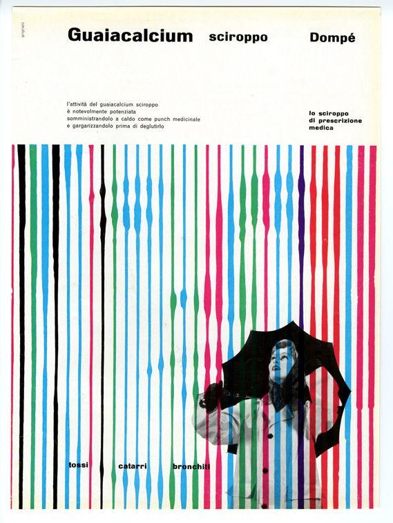 Franco Grignani: Vintage Graphics, Grignani Guaia 0 Jpeg, Push Drugs, Domp Ads, Domp 1954, Art Faces, Graphics Design, Franco Grignani