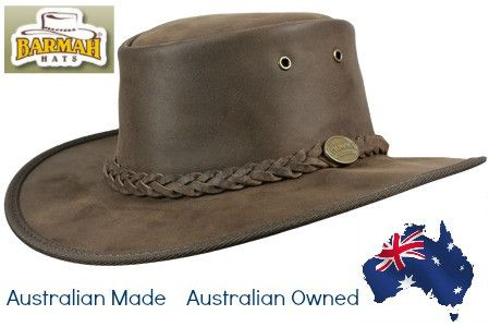 Buying Australian Made is often associated with the terms quality, genuine, durable and long wearing. Barmah Hats can be easily associated with these terms and
