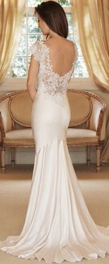white gown ♥✤ | Keep the Glamour | BeStayBeautiful