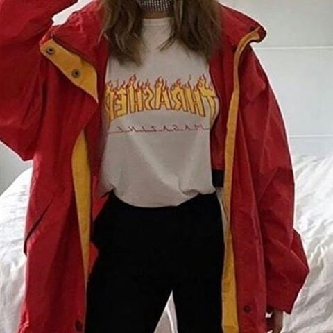 what is your favorite place to shop clothing from? - forever 21, pacsun, sal army x x x #likeforlike #followforlike #rainbow #carefree #aesthetic #tumblr #feed #theme #colors #glow #neon #shop #clothes #thrasher #skate #girl