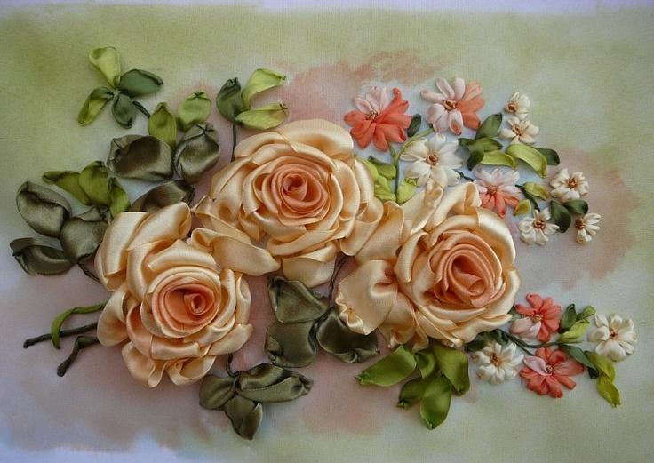 Gallery.ru / Фото #32 - Вышивка лентами - silkfantasy