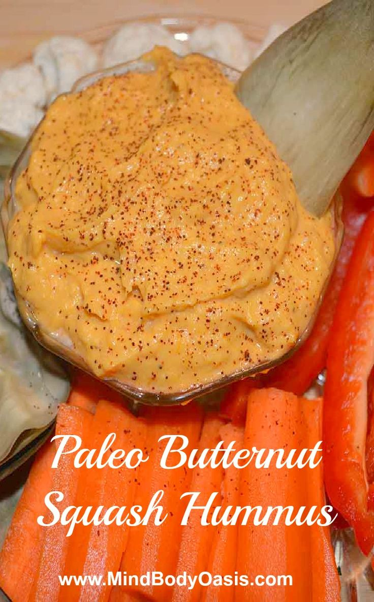 Hummus with Butternut Squash