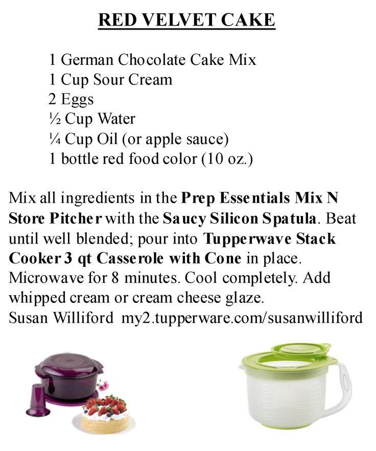 Tupperware Microwave Chocolate Cake Recipe