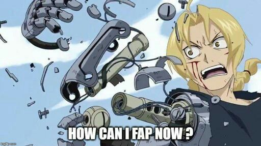 Now that I think about it ... fapping with that would be pretty painful. ...
