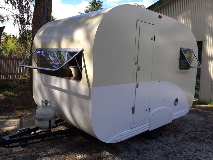 Vintage Bondwood Caravan 1949 | eBay Australia