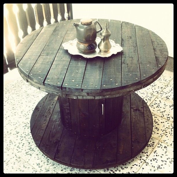 77 Best Images About Recycled Wooden Cable Reels On Pinterest