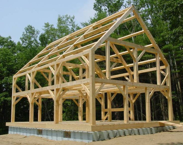 Best 25 timber frame homes ideas on pinterest timber for Small timber frame house plans