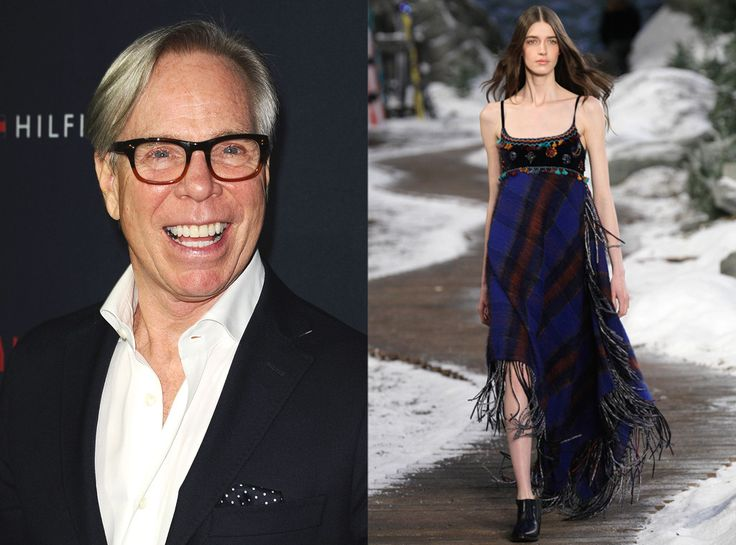 Tommy Hilfiger from New York Fashion Week Cheat Sheet  Fashion Week Debut: 1998Celeb Fans: Alicia Keys, Chrissy Tegan, Drew Barrymore Previously Worked For: JordacheSignature Design Details: Tartan plaids, piecing of different fabrics, designed with a little bit of rock 'n' roll