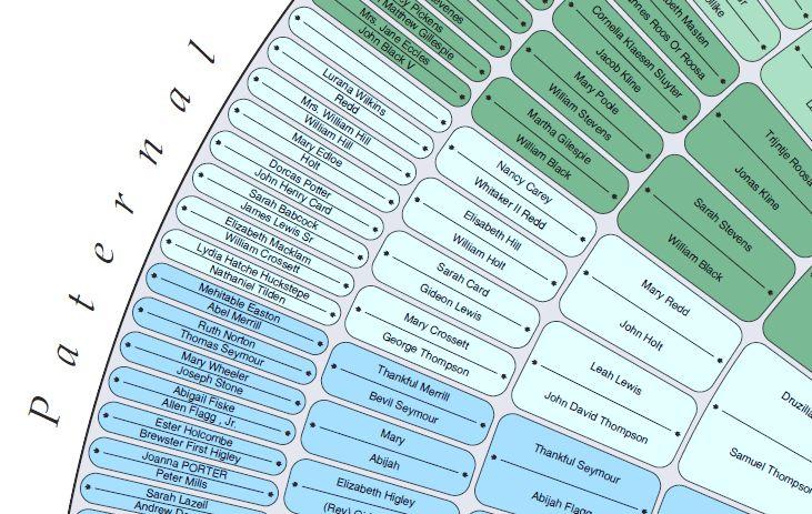 Easy Genealogy Chart