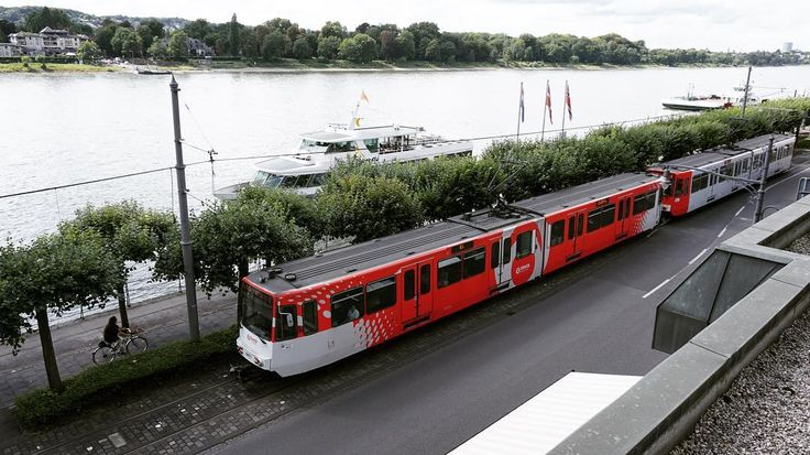 The view from my room at the #Maritim #Hotel in #Königswinter. The #River is the #Rhine and the #tram that is passing travels between #Bonn and #BadHonnef. #instagood #instadaily #culture #travel #tourism #tourist #leisure #life #Journey #holiday #vacation #nordrheinwestfalen #IgersKönigswinter #IgersNRW #IgersGermany #VisitNRW #Germany #SonyAlpha #Deutschland #transport