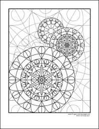 kaleidoscopes coloring pages - photo#32
