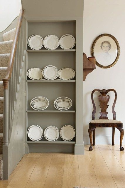 Plate Display - Hallway Ideas & Decorating Ideas (houseandgarden.co.uk)