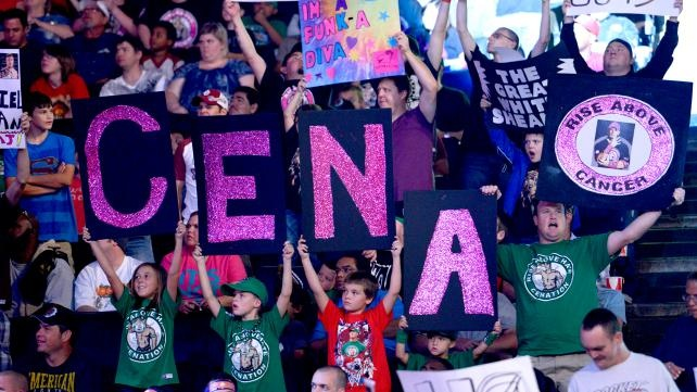 Image result for cena fan sign