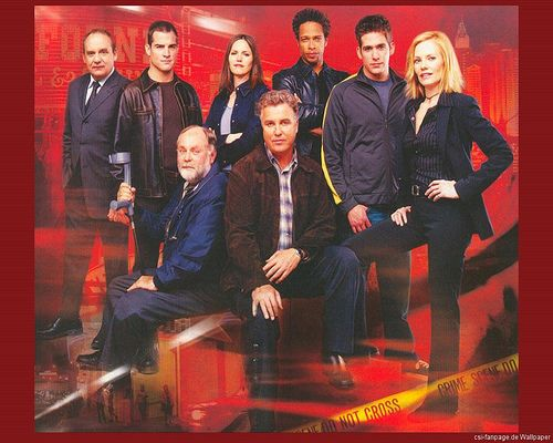 CSI LAS Vegas Cast by angelcatfellow, via Flickr