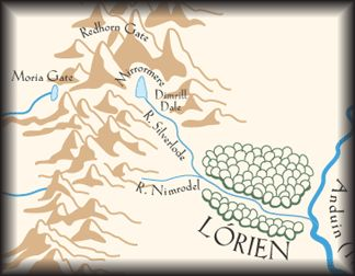 free downloadable/printable map of middle earth. make large print for decoration