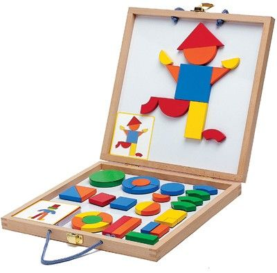 Djeco - Geoform Magnetic Puzzle Learning shapes in a fun way #EntropyWishList, #PinToWin
