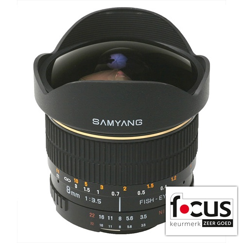 Samyang 8mm f/3.5 Fisheye Sony