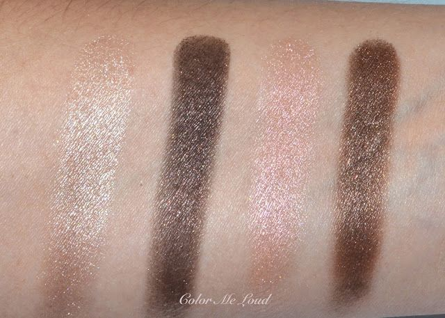 Sisley Phyto 4 Ombres Eyeshadow Quartet #1 Dream, Review, Swatch ...