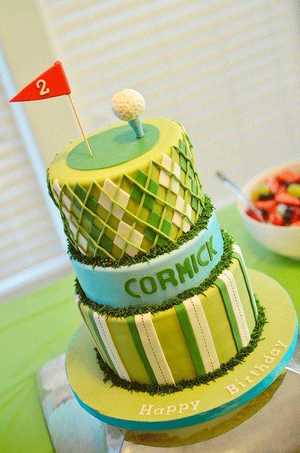 Golf party cake: Boys Cakes, Birthday Golf Cakes, Golf Themed, Golf Birthday Party Idea, Golf Party, Themed Cakes, Cakes Idea, Party Cakes, Birthday Cakes