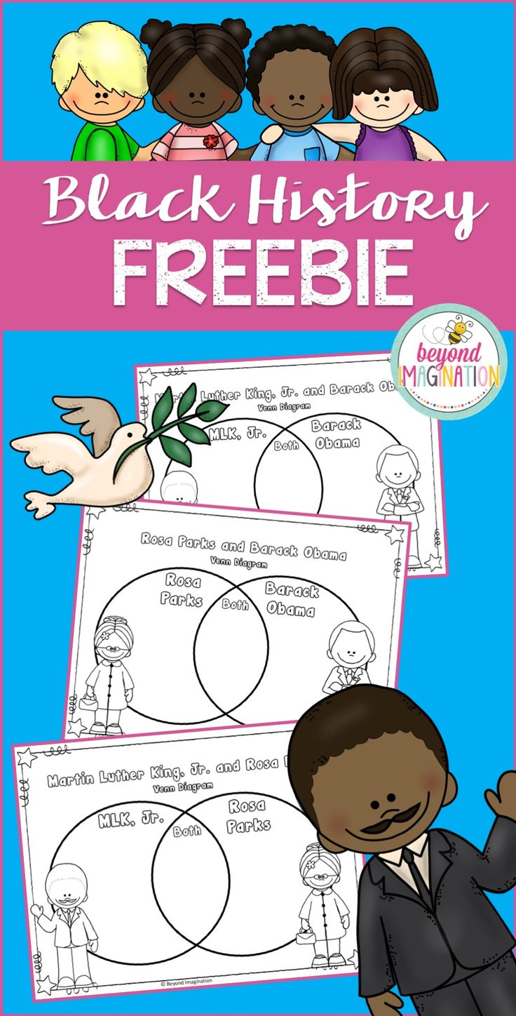 119 best black history month activities images on pinterest black history month freebie from beyond imagination venn diagrams are a fantastic learning tool pooptronica