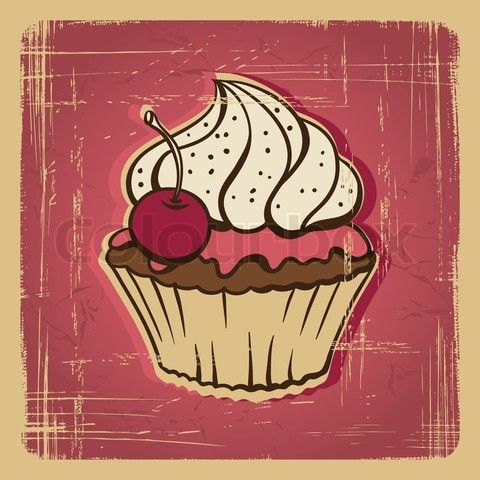 Image from http://the-media-network.com/wp-content/uploads/2013/06/4527481-684714-vector-illustration-of-cupcake-with-cherry-vintage-card.jpg.