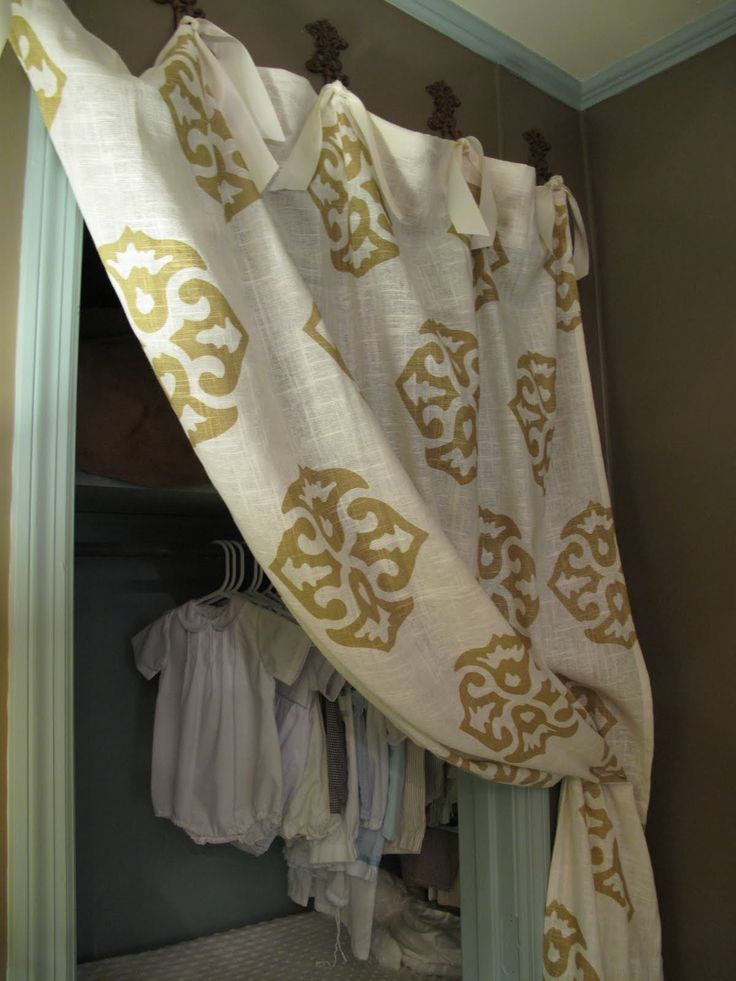 17 best images about ways to hang curtains on pinterest for Unusual ways to hang curtains