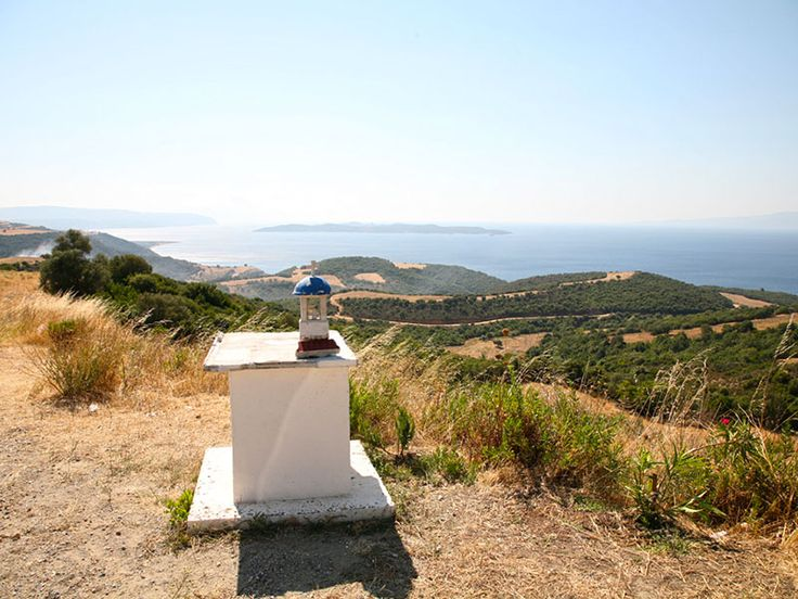 Panoramic view of #Ouranoupoli - East #Halkidiki #Greece #Travel #Landscape #Photo