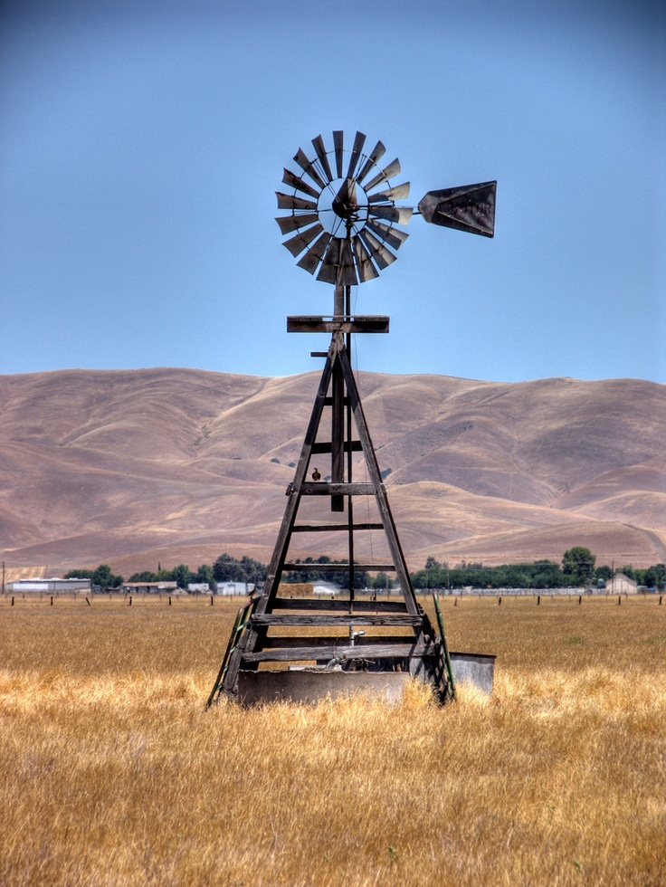Windmills - especially old ones.