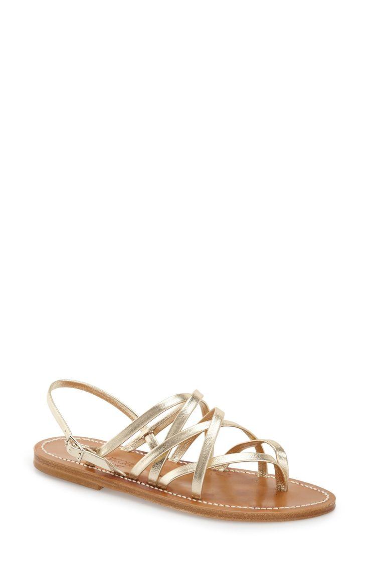 Strappy Flat Sandal (Women)