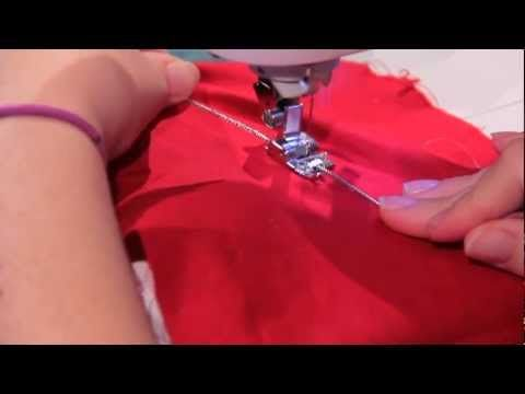 How to Use a Cording Foot - YouTube