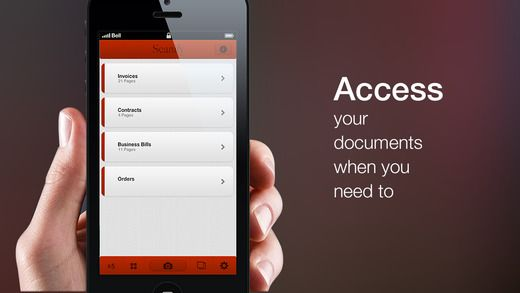 Scanify Plus: multi page document PDF scanner Taprr Pty Ltd 스캐너 디자인
