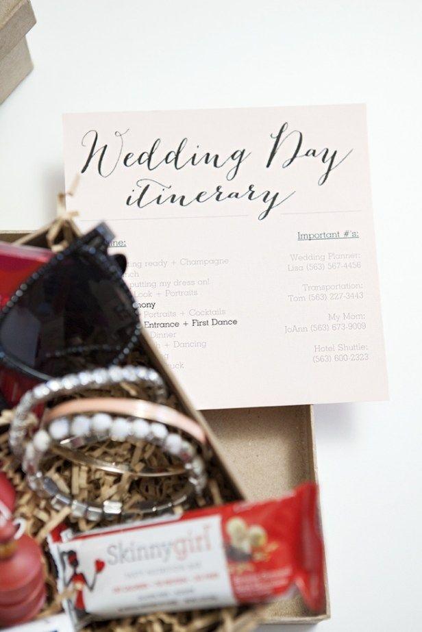 How to make a darling Bridesmaid Survival Kit!