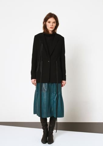 konsanszky_AW16_collection_MEZA leather skirt