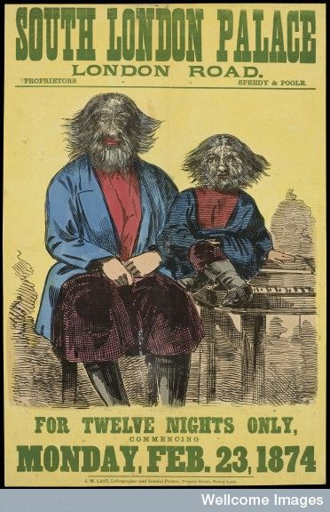 All Welcome At The Wellcome Library Freak Show CircusVintage