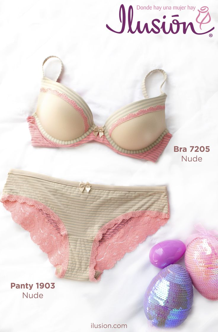 Pastels and nudes that are perfect for Easter ! Head to our site to find the perfect hunt this April. For bras and lingerie sets visit Ilusion.com