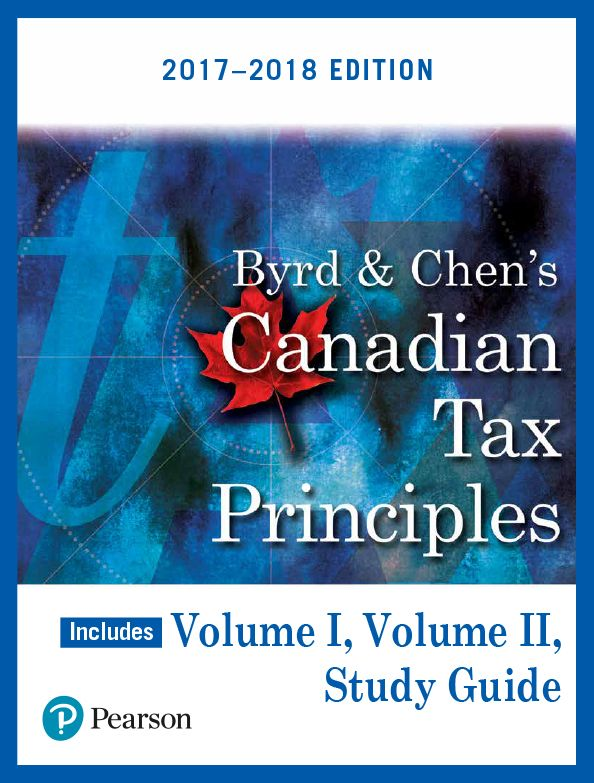 Test Bank Canadian Tax Principles 2017 2018 Edition Volume I