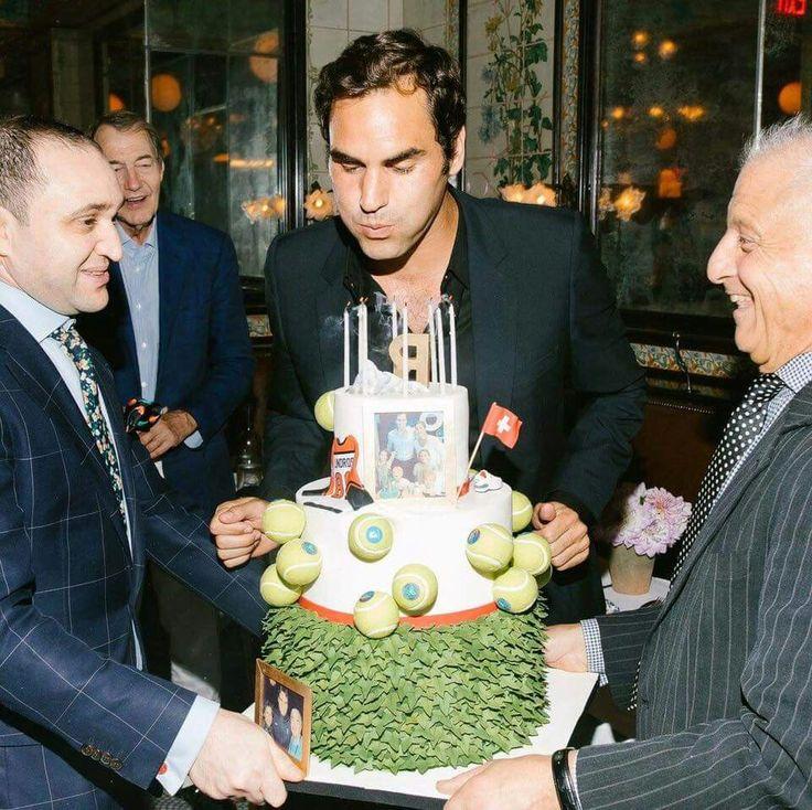 Celebration time in NY! Roger Federer - Août 2017