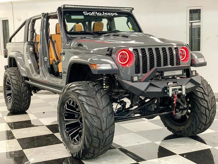 Pin by Hermie on JT.GALDIATOR☻ in 2020 Lifted jeep
