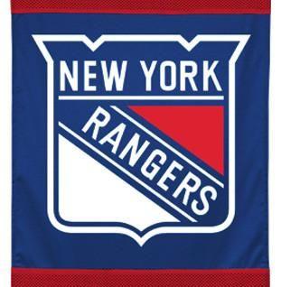 NHL New York Rangers Hockey Team Logo Wall Hanging Accent
